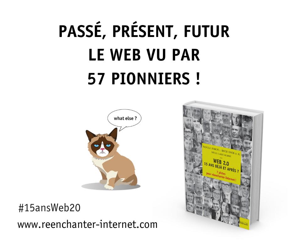 """Le livre """"Web 2.0 - 15 ans déjà et après?"""""""
